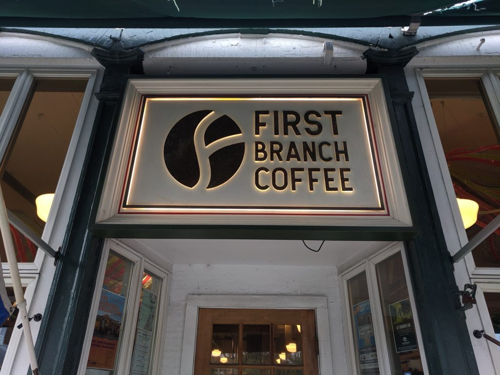 First Branch Coffee in downtown South Royalton