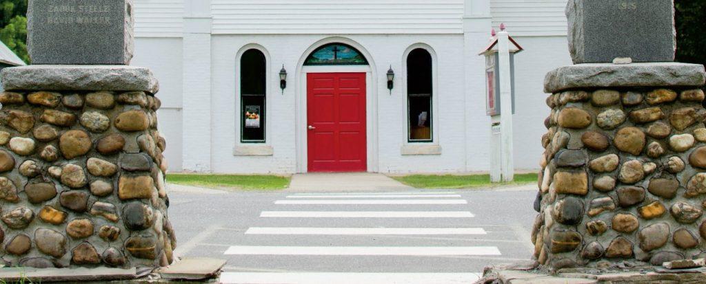 Red Door Church entrance